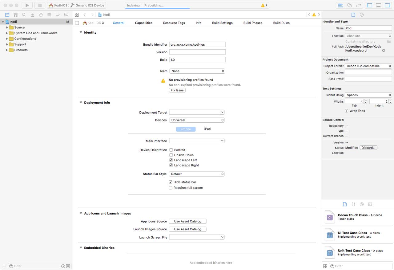 Compile and install Kodi on iPad without jailbreak   Tchut-Tchut Blog