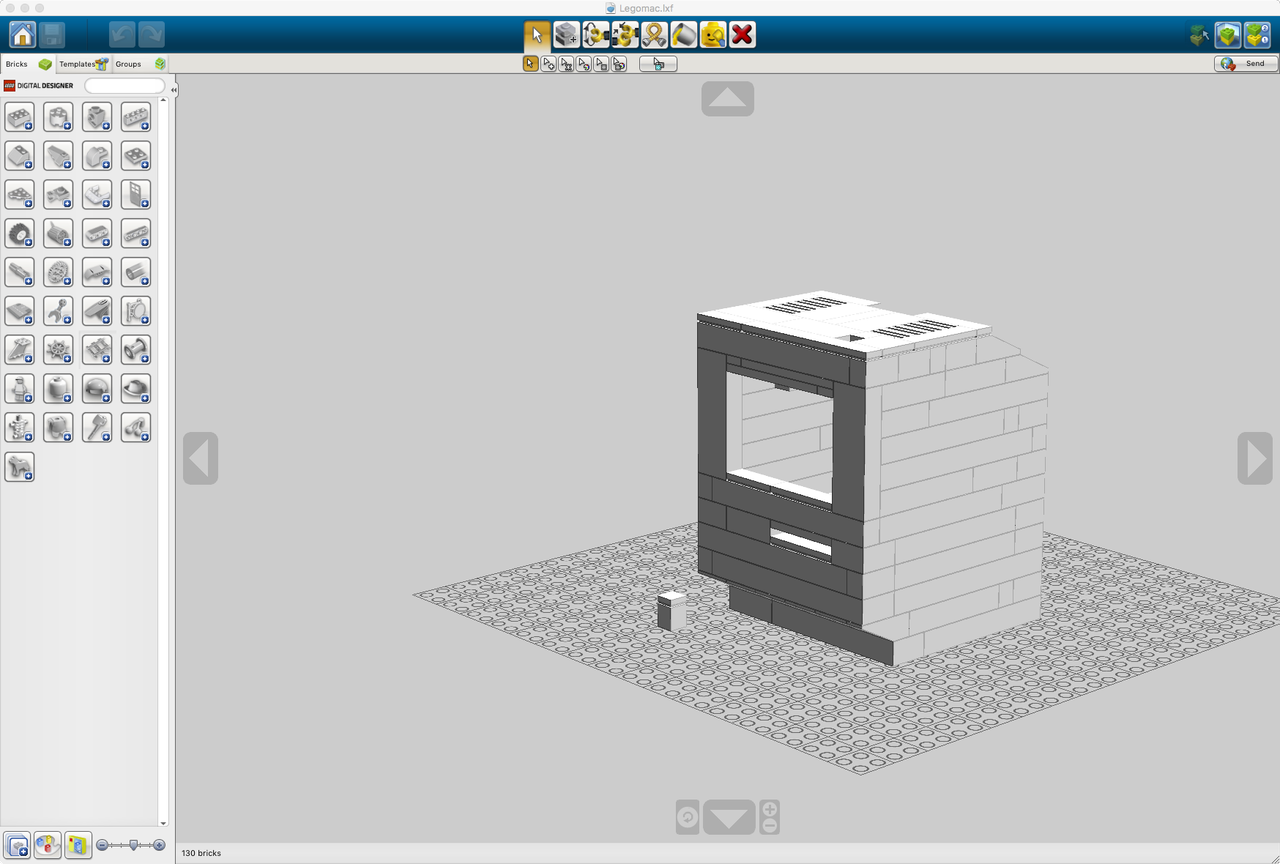 My Lego Macintosh Classic With Raspberry Pi And E Paper Display