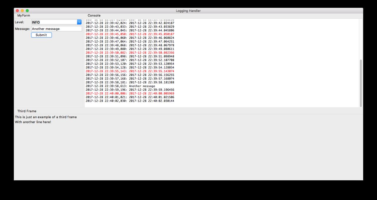 Logging to a Tkinter ScrolledText Widget   Tchut-Tchut Blog
